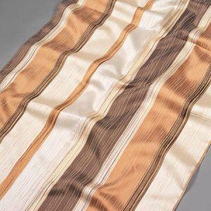 Tkanina zasłonowa PERU 3793 /5 brązowy jasny i ciemny z beżowym