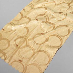 Tkanina zasłonowa RINGS /Lt. gold-złoty jasny