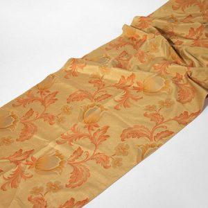 Tkanina zasłonowa ROME 226 /3 złoty z brązowym