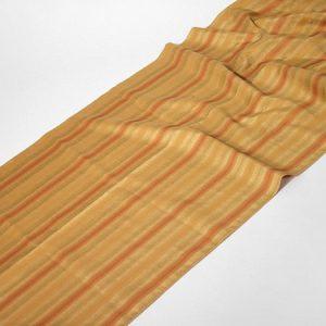 Tkanina zasłonowa ROME 5020 /3 złoty z brązowym