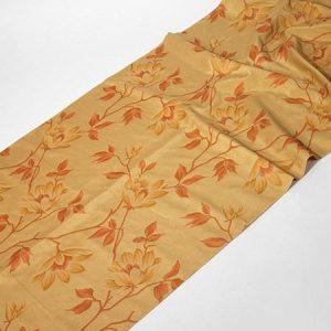 Tkanina zasłonowa ROME 5025 /3 złoty z brązowym