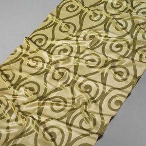 Tkanina zasłonowa ROYAL DAMASK 5486 /8 zielony