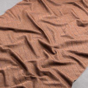 Tkanina zasłonowa SOFT 20004 /78 brązowy