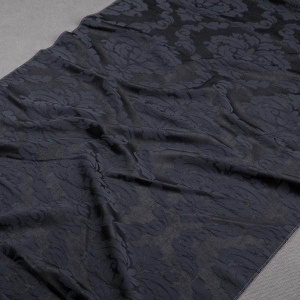 Tkanina zasłonowa SOFT 4025 /1010 czarny