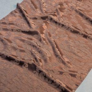 Tkanina zasłonowa SOFT 4025 /119 brązowy