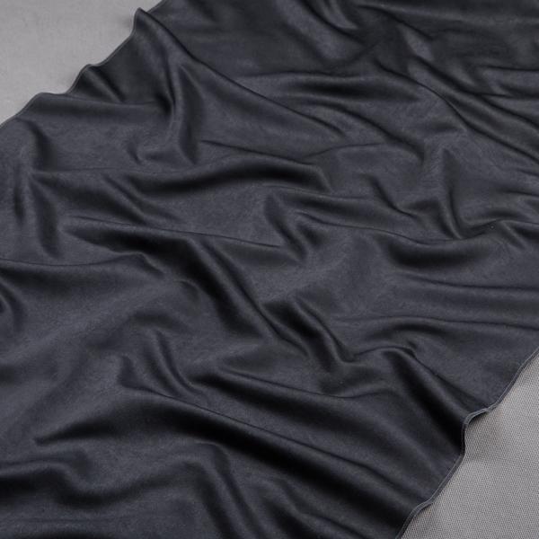 Tkanina zasłonowa SOFT PLAIN /1010 czarny