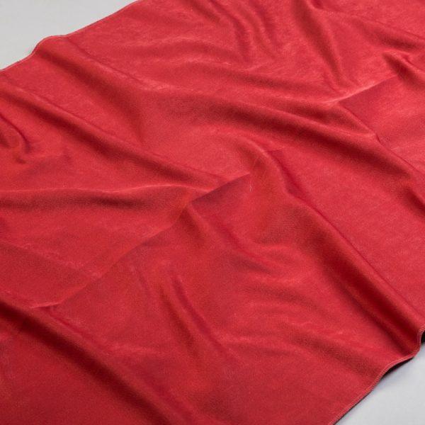 Tkanina zasłonowa SOFT PLAIN /455 czerwony