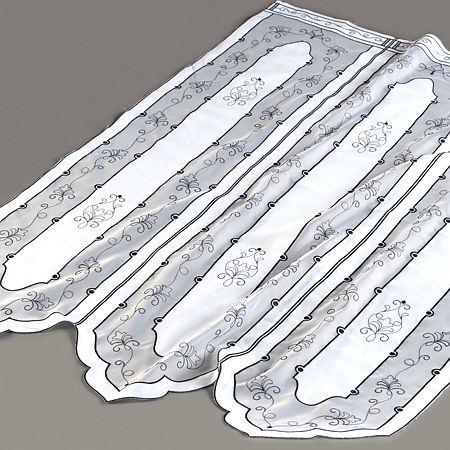 Zazdrostka panel WITRAŻ 44020 /biały z czarnym