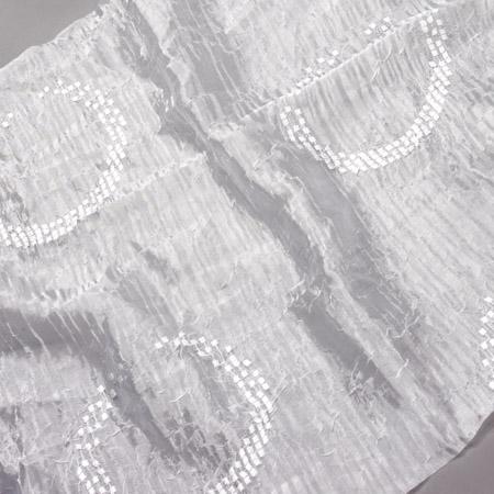 Firana ORGANZA KRESZ MILANO 6513 /biały