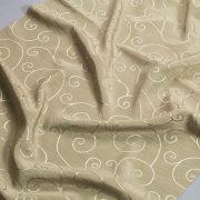 Tkanina zasłonowa SPIRALA /42 oliwkowy jasny