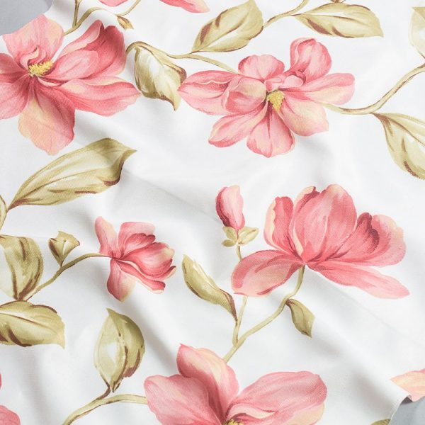 Tkanina zasłonowa YB 101 /1 różowy