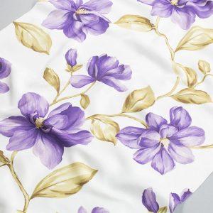 Tkanina zasłonowa YB 101 /3 fioletowy