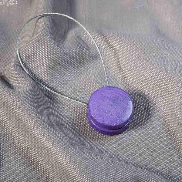 Klips magnetyczny ZEBRA /fioletowy