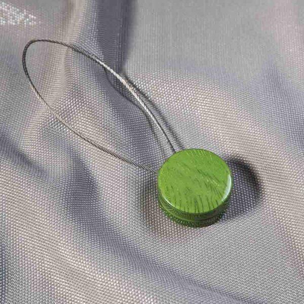 Klips magnetyczny ZEBRA /zielony