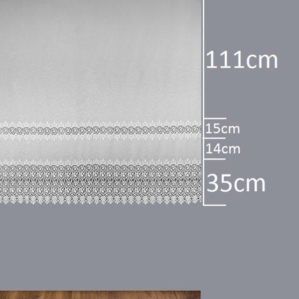 Firana B2 7803 /180/ wymiary wzoru