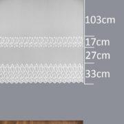 Firana 130527 /180/ wymiary wzoru