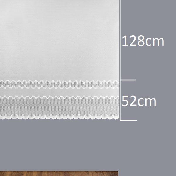 Firana 340810-2L /180/ wymiary wzoru