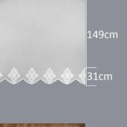Firana 41602 /180/ wymiary wzoru