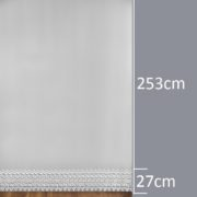 Firana 8870 /1L /280/ wymiary wzoru