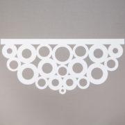 Panel ażurowy /wzór 1 biały