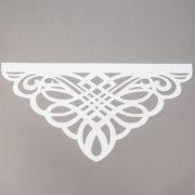 Panel ażurowy wzór 3 biały