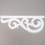Panel ażurowy /wzór 4 biały
