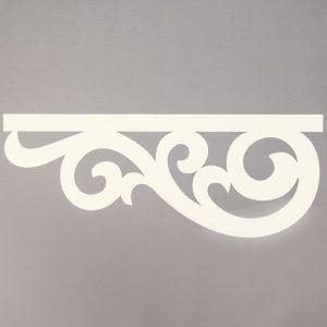 Panel ażurowy /wzór 4 kremowy