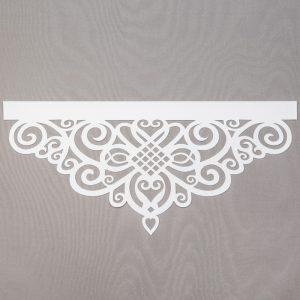Panel ażurowy /wzór 5 biały
