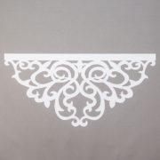Panel ażurowy /wzór 6 biały