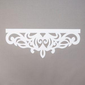 Panel ażurowy /wzór 7 biały
