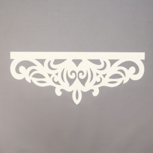 Panel ażurowy /wzór 7 kremowy