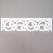 Panel ażurowy /wzór 8 biały