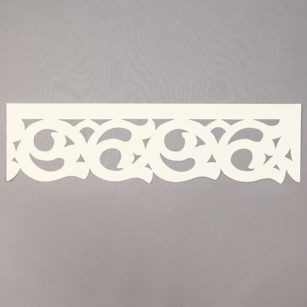 Panel ażurowy /wzór 8 kremowy