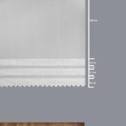Firana 41760-3L /180 /wymiary wzoru