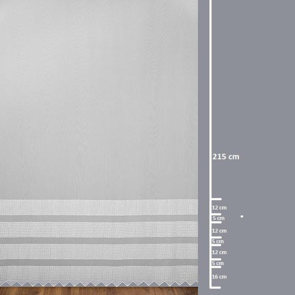 Firana 41760-4L /280 /wymiary wzoru