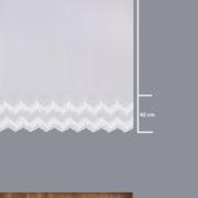 Firana 41397 /180/ wymiary wzoru