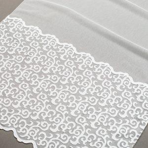 Firana 30545-1L /180 - w kolorze białym