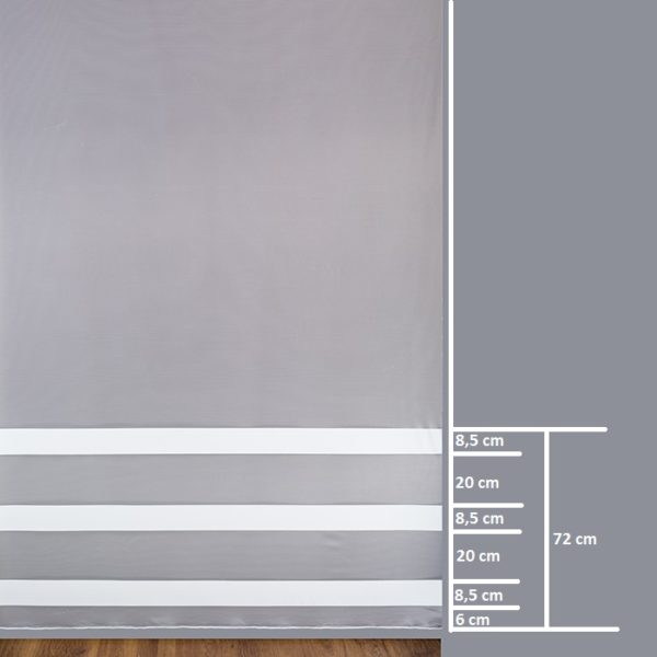 Firana SATURN P04 /290/ wymiary wzoru