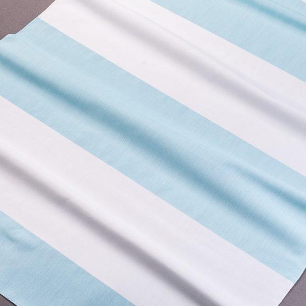 Tkanina 30280 /2012- turkusowy z naturalnym