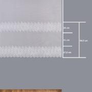 Firana 345340-2L /160/ wymiary wzoru