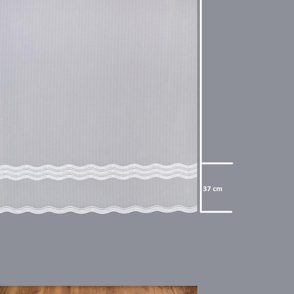 Firana 42486-3L /180/ wymiary wzoru