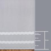 Firana 42486-3L /280/ wymiary wzoru