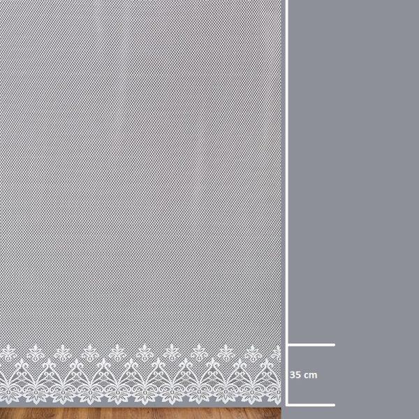 Firana 6018038 / wymiary wzoru dla każdej wysokości
