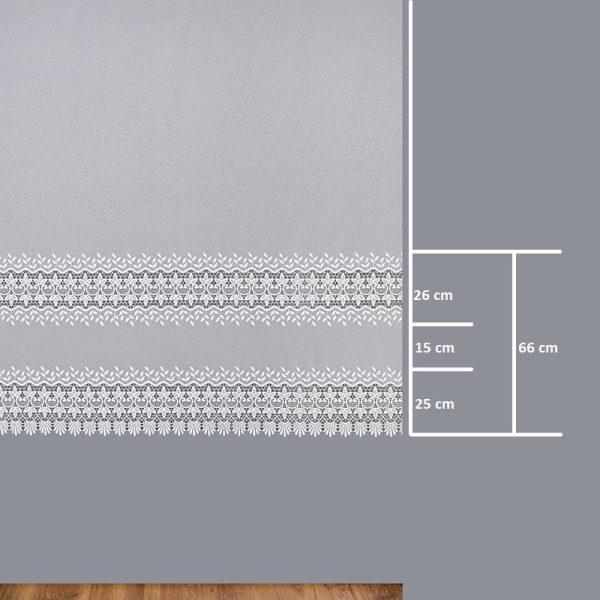 Firana 81170-2L /180/ wymiary wzoru