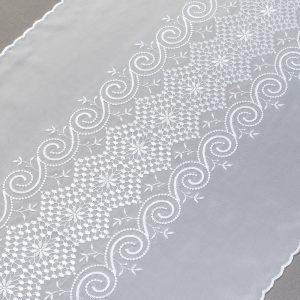 Firana PANEL 30770 /60 biały