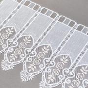 Zazdrostka 29792-202 /40 white ( haft biało-złoty )