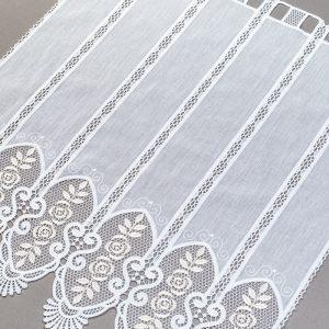 Zazdrostka 29792-202 /70 white ( haft biało złoty )