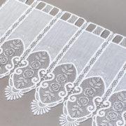 Zazdrostka 29792-46 /40 white ( haft biało-szary )