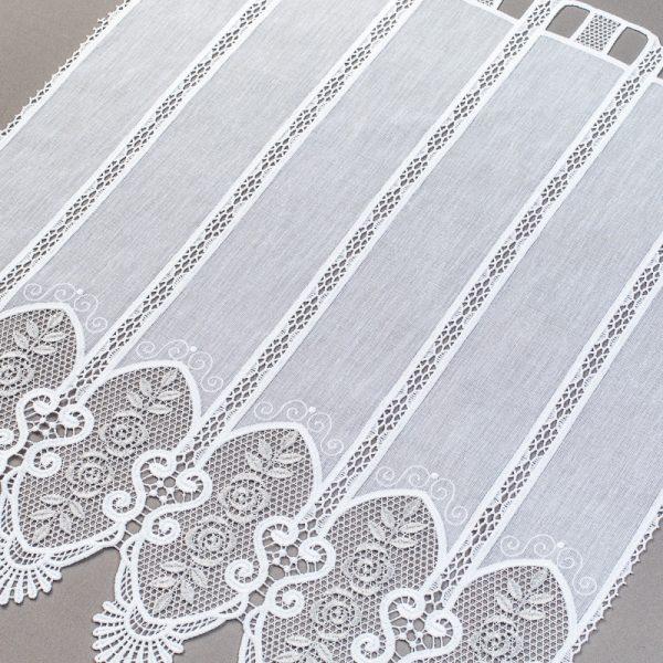 Zazdrostka 29792-46 /70 white ( haft biało-szary )