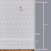 Firana 24516 /280/ wymiary wzoru
